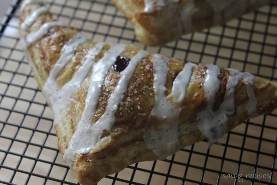 Cherry Turnovers With Goat Cheese Cream | Saving Recipes